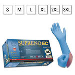 Microflex Supreno EC Gloves, Nitrile, Powder Free, Textured, Extended Cuff, 11.6inch, 3XL