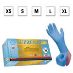 Microflex Supreno SE Gloves, Nitrile, Textured, Powder Free, 9.6in, SM