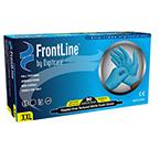 Frontline Gloves, Nitrile, Powder Free, 9 1/2inch, SM