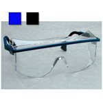 Astro OTG 3001 Safety Glasses, Over the Glass, Ultra-dura Anti-scratch Lens, Black Frame, Clear Lens