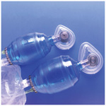 Rusch Manual Resuscitator Adult BVM w/Bag Reservoir, MED Mask