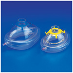 Resuscitation Masks, Disposable, Pink Hook Ring, Infant