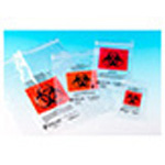 TransVelope Biohazard Specimen Bag, Outside Pocket, Zipper Seal, 4inch x 6inch *Limited QTY*