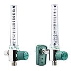 Oxygen Flowmeter, Chrome Body, 0-15 LPM, DISS Male Connector