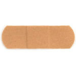 Band-Aid Adhesive Bandage, Flexible Fabric, 1inch x 3inch