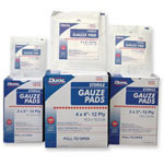 Gauze Pad, Sterile, 100% Woven Cotton, 12 Ply, 4inch x 4inch, 10pk/Box