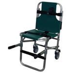 Evacuation Chair, 35 1/4inch H x 18 7/8inch W x 22 3/8inch D
