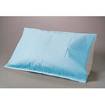 Pillowcase, All-Poly, Disposable, 21inch x 30inch, White