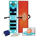 Pedi-Air-Align Immobilization Board Only, 48inch x 12inch x 1 3/4inch, Teal