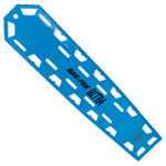 Bak-Pak Ultra Backboard, without Pins, with Straps, 72inch x 16inch x 3/4inch, Blue
