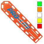 PRO-LITE Spineboard, w/o Pins, 72inch Long x 16inch Wide x 2 1/4inch Deep, Neon Green
