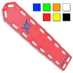 PRO-LITE XT Backboard, w/Pins, 72in Long x 16in Wide x 2 1/4in Deep, Red