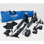 Sager S-301 Splint, Compact, Easy to Carry, Lower Limb Only, Single, w/Soft Case