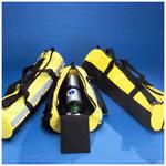 Oxygen Bag, Duffel Type, Size D, Yellow