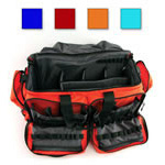 Comprehensive Trauma Bag, with Removable Lining, Size D, 27inch x 15inch x 12inch, Orange