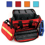 Large Advanced Life Support Case, 22inch L x 14inch W x 11inch H, w/o Modules, Orange