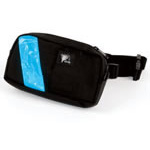 EMS-2 WaistPak Fanny Pack, Black w/Orange Reflective Tape