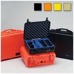 Pelican 1500 Case, 16.75inch x 11.18inch x 6.12inch, Desert Tan w/o Foam