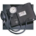 Prosphyg 760 BP Unit, incl Black Enamel Gauge, Size 12 LG Adult, Navy