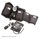 Multikuf 3 Cuff BP System, incl Palm Style Gauge, SM Adult, Adult and LG Adult Cuffs, Navy Blue