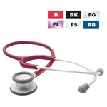 Adscope 609 Stethoscope, Lightweight, Red