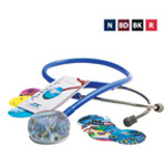 Adscope 655 Amplifying Stethoscope, Navy Blue