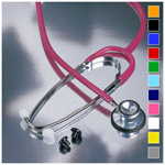 Proscope 670 Stethoscope, Dual Head, Red