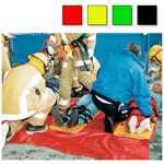Triage Tarp, 10 Feet x 12 Feet, Reusable, Red, Matches S.T.A.R.T. Triage Requirements