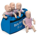 Baby Anne Manikin w/Soft Pack Carry Case*LIMITED QUANTITY*