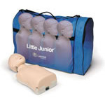 Little Junior Manikin, Light Skin, w/Soft Case/Training Mat, Single Pack
