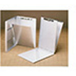 A-Holder Clipboard, Aluminum, Antimicrobial, Letter size