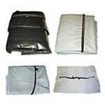 Body Bag, Envelope Zipper, Non-Vinyl, Chlorine Free, 38inch x 96inch, Adult, White*Discontinued*
