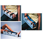 Full On Xtremity Splint, Self-Contained, Cardboard, Foam Rubber, Hook and Loop Straps, 12inch