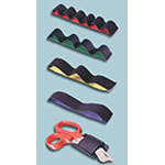 Elastic Strip Unit, Attaches To Any Velcro Loop Surface, Blue, Two Loop