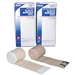 Elastic Bandage, Rolls, Individually Wrapped with 2 Metal Clips, 2inch