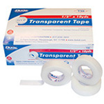 Transparent Tape, Adhesive, Hypoallergenic, 3inch x 10 yard