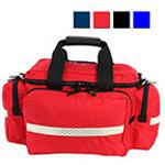 LA Rescue Trauma Attack Pack, Reflexite Trim, 20inch L x 13inch W x 11inch H, Red