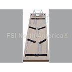Dispos-A-Board Backboard, Adult, Cardboard, Easy Grip Straps, w/o Head Immobilizer