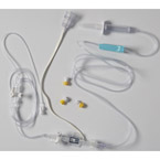 Transducer Kit, Single Line, Patient Mount, Disposable, 9 Inch Tube, Macrodrip