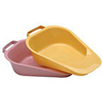 Fracture Style Bedpan, Female, Disposable, Rose