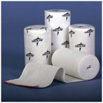 Swift Wrap Elastic Bandage, Non-Sterile, Rubber Elastic w/Self Closure, White, 3inch x 5 yards