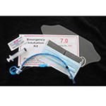 Emergency Airway Intubation Kit, 12cc Syringe, Mask/Shield, 3gm Lube Jelly, Tube 8.0mm Stylette *Discontinued*