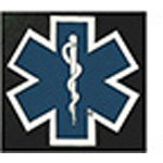 Star Of Life Die-Cut Decal, 3inch x 3inch