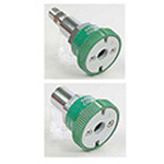 Oxygen Coupler, Compact, Ohmeda x 1/8 NPT Male
