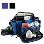 Oxygen/Trauma/Airway Deployment Kit, 23inch L x 6 1/2inch W x 14 1/4inch D, Blue