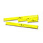 Yellow Jacket Padded Board Splint, 12inch, Yellow