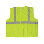 Safety Vest, ANSI Class 2, 5 Point Tear Away, Lime Green, LG