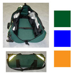 O2 Duffel Bag, for E, 33inch x 10inch, Green