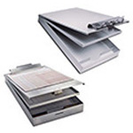 Cruiser Mate Clipboard, Recycled Aluminum, Antimicrobial, Letter Size