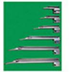 Laryngoscope Blade, German Profile Miller, Fiber Optic , Size 1, Infant